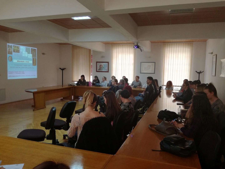 Predavanje doc. dr. sc. Sunčice Kocić-Tanackov (Tehnološki fakultet, Univerzitet u Novom Sadu, Srbija), naslova: