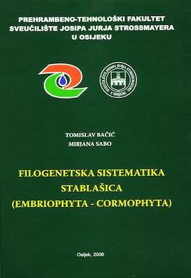 Filogenetska sistematika stablašica : (embriophyta-cormophyta)