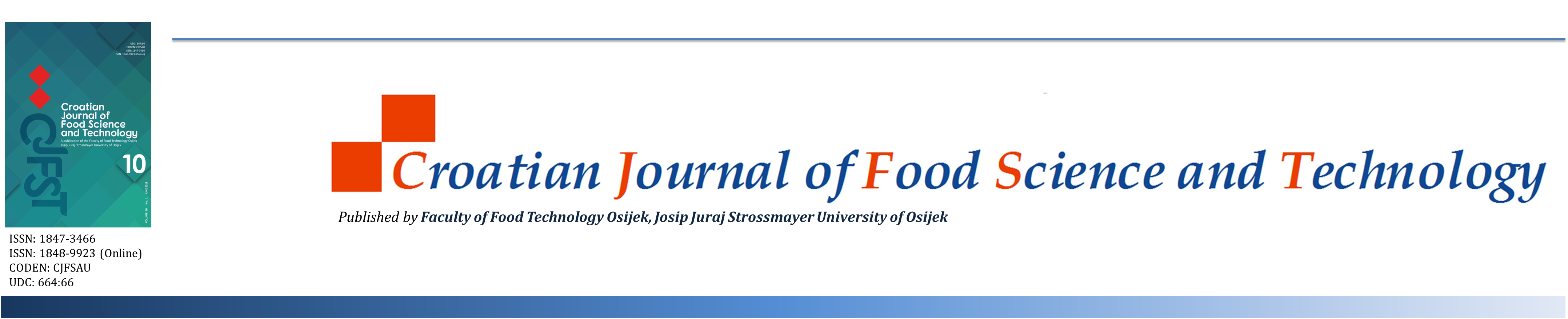Croatian Journal of Food Science and Technology